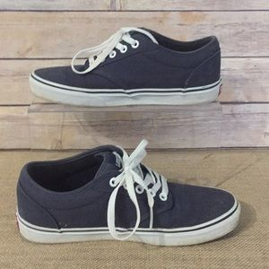 8.5 Navy Canvas Vans